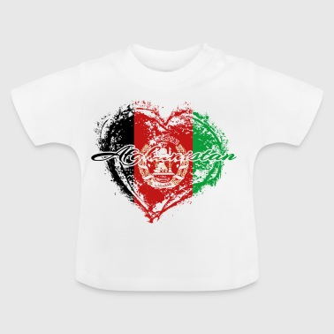 HOME ROOTS COUNTRY GIFT LOVE Afghanistan - Baby T-Shirt