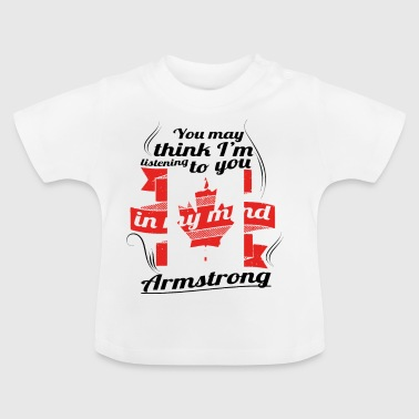 URLAUB HOME ROOTS TRAVEL Kanada Canada Armstrong - Baby T-Shirt