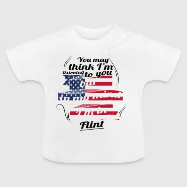 THERAPIE URLAUB AMERICA USA TRAVEL Flint - Baby T-Shirt