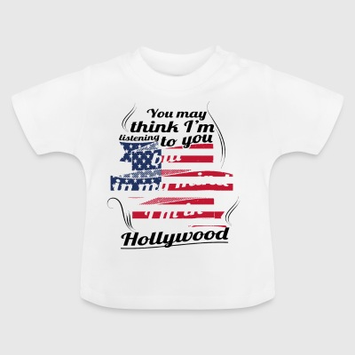 THERAPY HOLIDAY AMERICA USA TRAVEL Hollywood - Baby T-Shirt