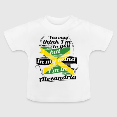 URLAUB jamaika ROOTS TRAVEL I M IN Jamaica Alexand - Baby T-Shirt