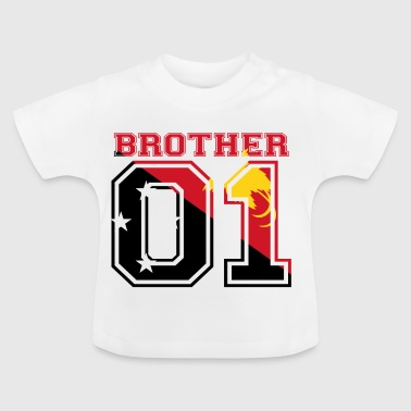 Brother 01 kung Papua Nya Guinea - Baby-T-shirt