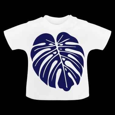 monstera leaf - Baby T-Shirt