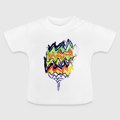 Indian Flower - Baby T-Shirt