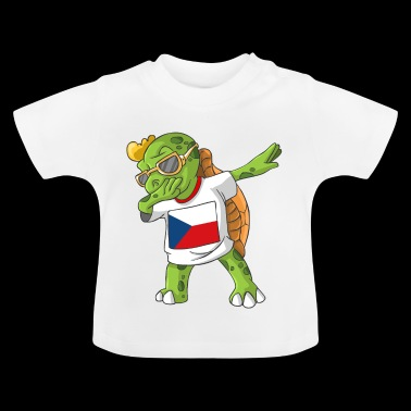 Czech Republic Dabbing turtle - Baby T-Shirt