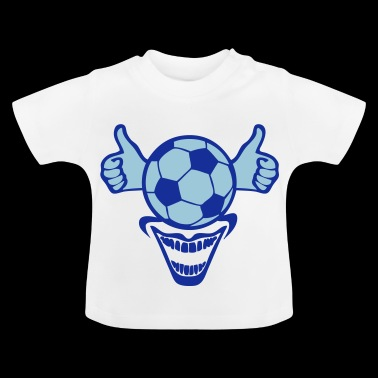 football jaime ok pouce valide super doi - T-shirt Bébé