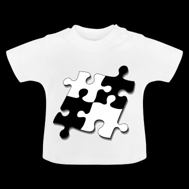 Puzzle pieces - Baby T-Shirt