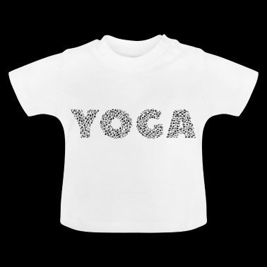 fan de yoga - T-shirt Bébé