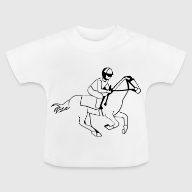 Jockey - Horse Racing - Baby T-Shirt