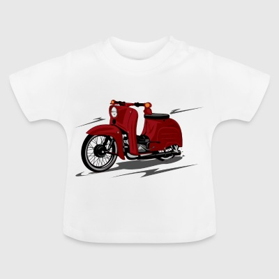 scooter rouge - T-shirt Bébé