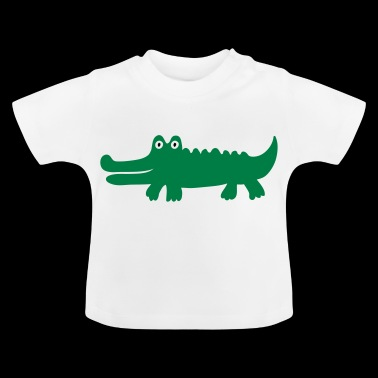 2541614 14641926 crocodile - T-shirt Bébé