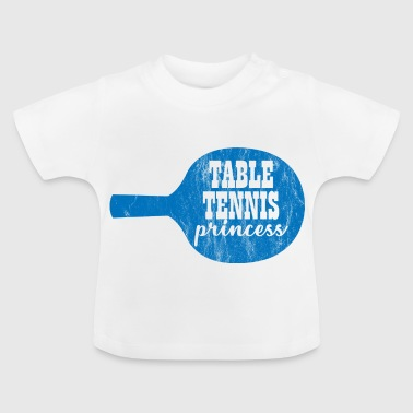 Bordtennis - Vintage - Gave - Bordtennis - Baby-T-skjorte