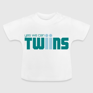 yes we can twins Zwillinge - Baby T-Shirt