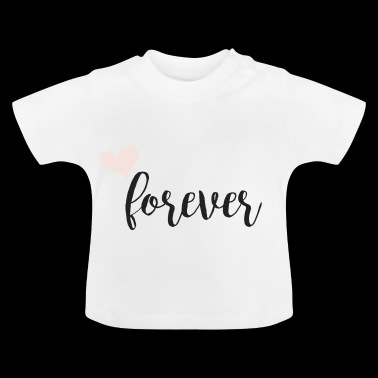 evigt Partnerlook - Baby-T-shirt