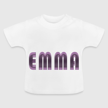 Emma name first name name day birth gift idea - Baby T-Shirt