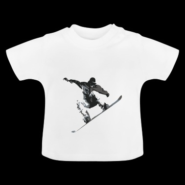 snow Board - T-shirt Bébé