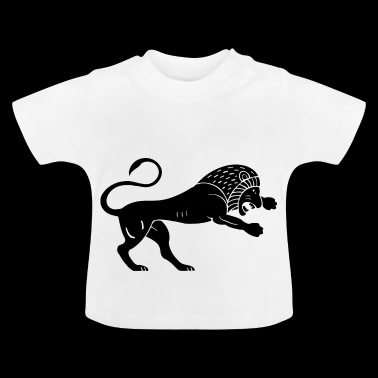 Ancient lion - Baby T-Shirt