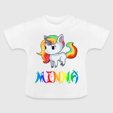 Unicorn Minna - Baby-T-shirt