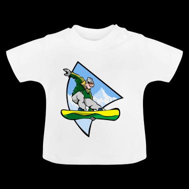 snowboarder - Baby T-shirt