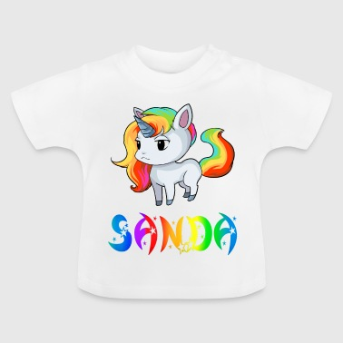 Unicorn Sanda - Baby-T-shirt