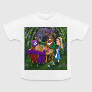 alice in wonderland tea pary - Baby T-Shirt