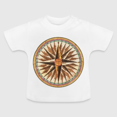 Antiker Kompass - Baby T-Shirt