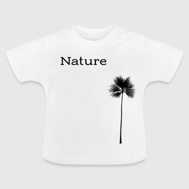 Nature - stylishes Shirt mit Aufdruck - Baby T-Shirt