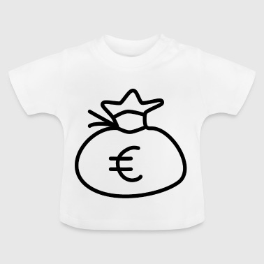 Money Sack Euro Gift Idea Wealth - Baby T-Shirt