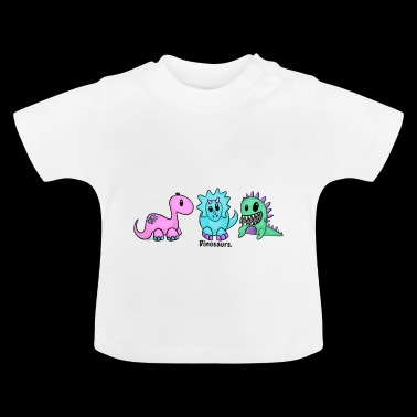 Adorable Dinosaurs - Baby T-Shirt