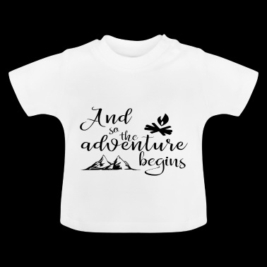 SO STARTED THE EVENING TAX - Baby T-Shirt