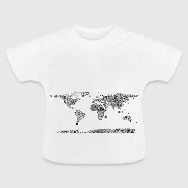 carte - T-shirt Bébé