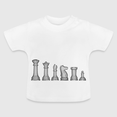 Chess pieces! - Baby T-Shirt