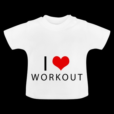 workout - T-shirt Bébé