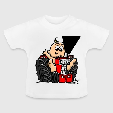 BABY ON TRACTOR - Baby T-shirt