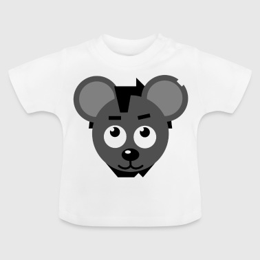 The rebellious bear - Baby T-Shirt