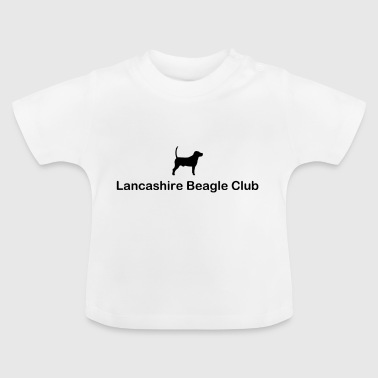 Lancashire Beagle Club Black Logo - Baby T-shirt
