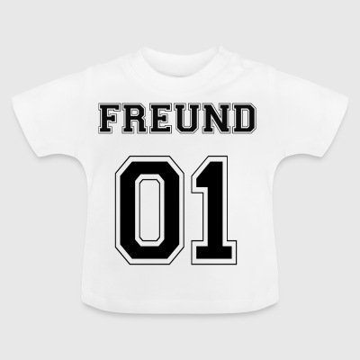 Friend - Black Edition - Baby T-Shirt