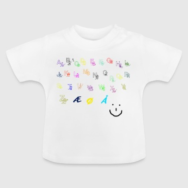 alfabet Collection - Baby-T-shirt