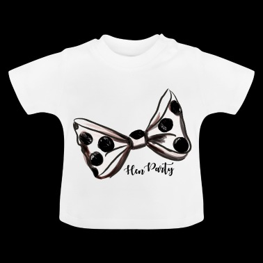 Hen Party. Bachelorette Party Night. Celebrate. - Baby T-Shirt