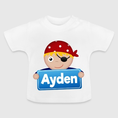 Little Pirate Ayden - Baby T-Shirt