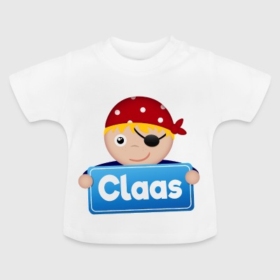 Little Pirate Claas - Baby T-Shirt