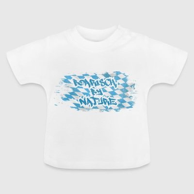Boarisch by nature - Baby T-Shirt