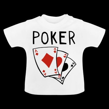 Pokeripeli - Card - Cards - poker - Full House - Vauvan t-paita