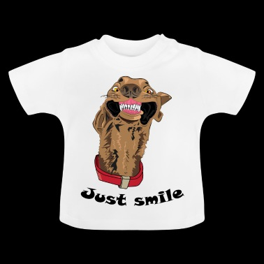 Just smile - Baby-T-shirt
