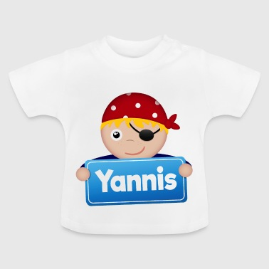 Petit Pirate Yannis - T-shirt Bébé