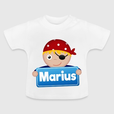 Petit Pirate Marius - T-shirt Bébé