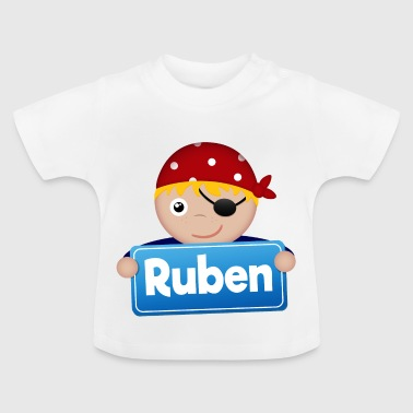 Petit Pirate Ruben - T-shirt Bébé