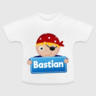 Petit Pirate Bastian - T-shirt Bébé
