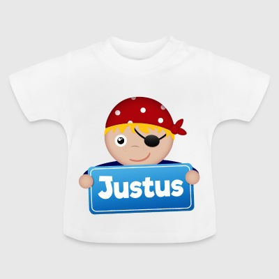 Little Pirate Justus - Baby T-Shirt