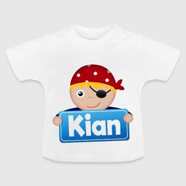Little Pirate Kian - Baby T-Shirt
